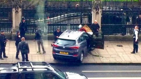 Tiroteo en Londres a las puertas del Parlamento británico: 14 heridos