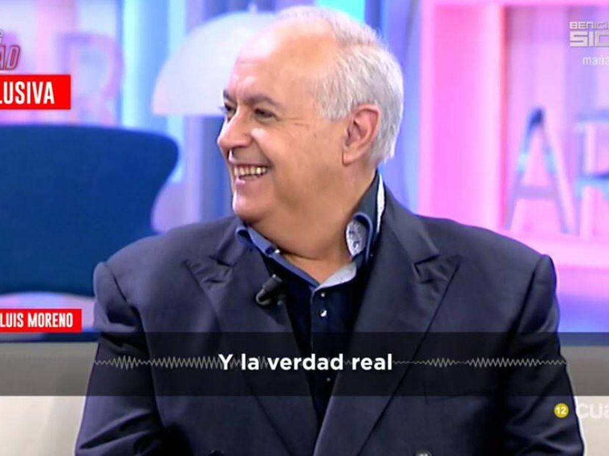 Foto: Foto de archivo de José Luis Moreno en 'Todo es verdad'. (Mediaset)