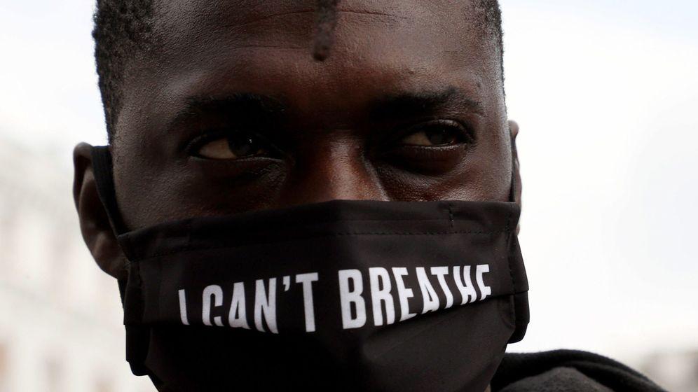 Foto: Protesta contra el racismo durante la pandemia del coronavirus. (EFE)