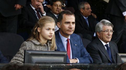 Así vivió la princesa de Asturias su debut en el fútbol