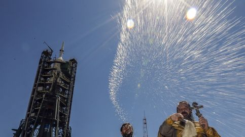 Preparación de la plataforma de lanzamiento de Kazajistán