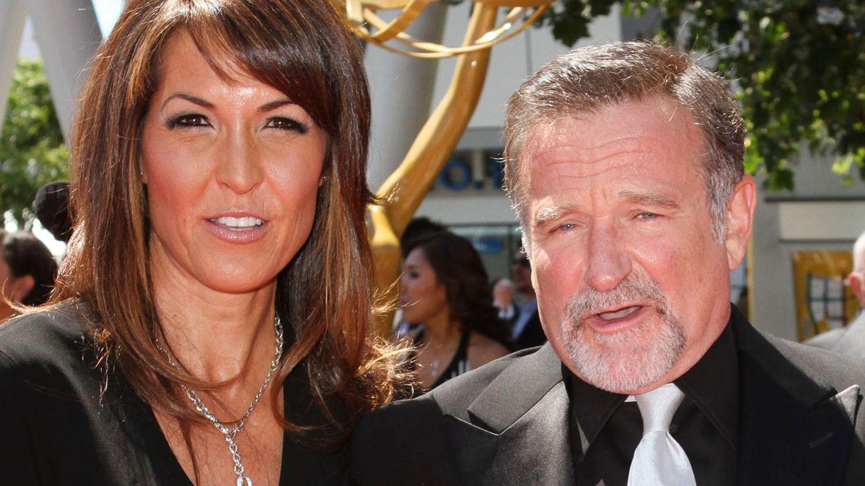 Foto: Robin Williams junto a su mujer Susan (Gtres)