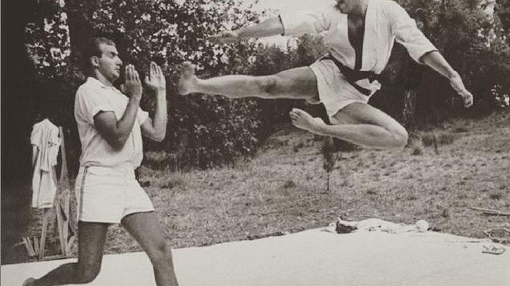 Don Juan Carlos y Constantino de Grecia: la pelea karateca de dos reyes