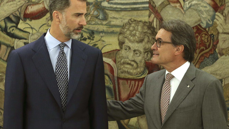 Foto: El Rey recibe en audiencia al presidente de la Generalitat, Artur Mas