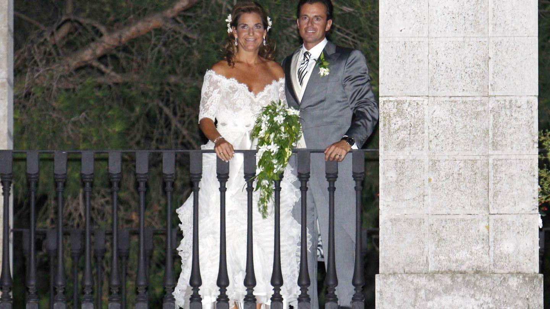 Arantxa Sanchez Vicario y Santacana durante su boda.(Getty)