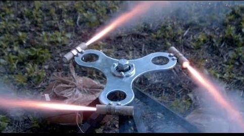 Así es el definitivo Fidget Spinnner... que gira con cohetes
