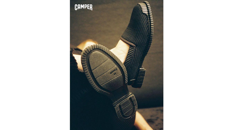 La nueva colección de Camper imita la textura de los jerséis