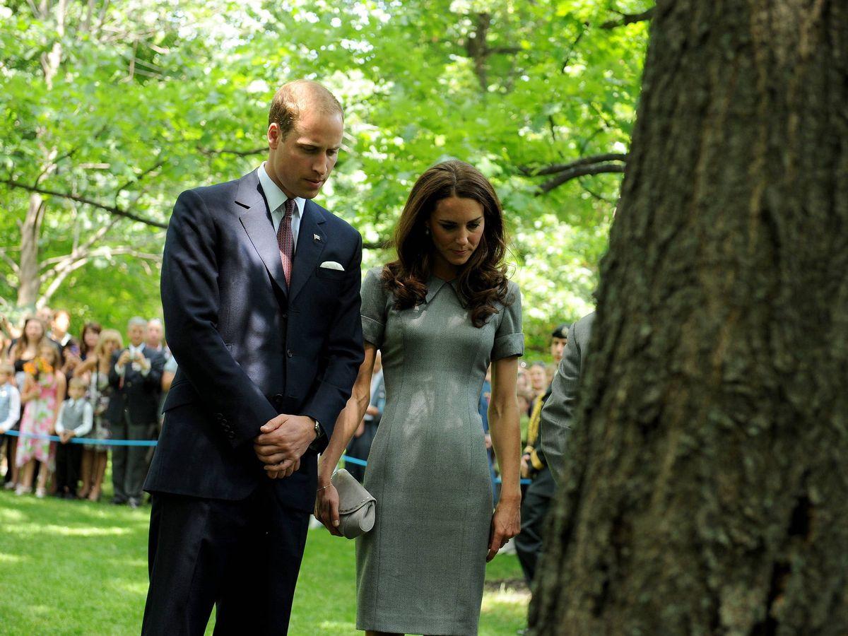 Foto: Kate Middleton y el príncipe Guillermo en una imagen de archivo. (EFE)