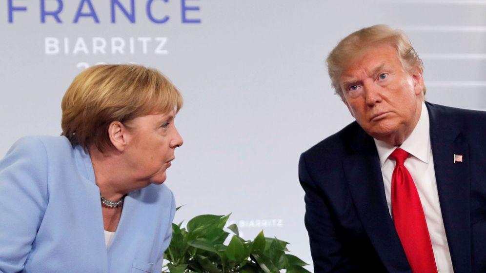 Foto: Angela Merkel y Donald Trump. (Reuters)