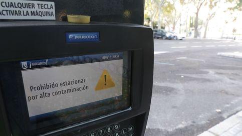 Madrid mantiene para el jueves la prohibición de aparcar en zona SER