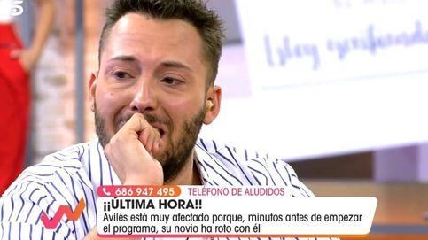 José Antonio Avilés se derrumba porque que su novio ha roto con él