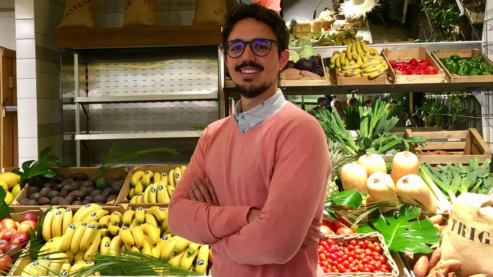 Foto: El nutricionista Carlos Ríos, hoy en Madrid.