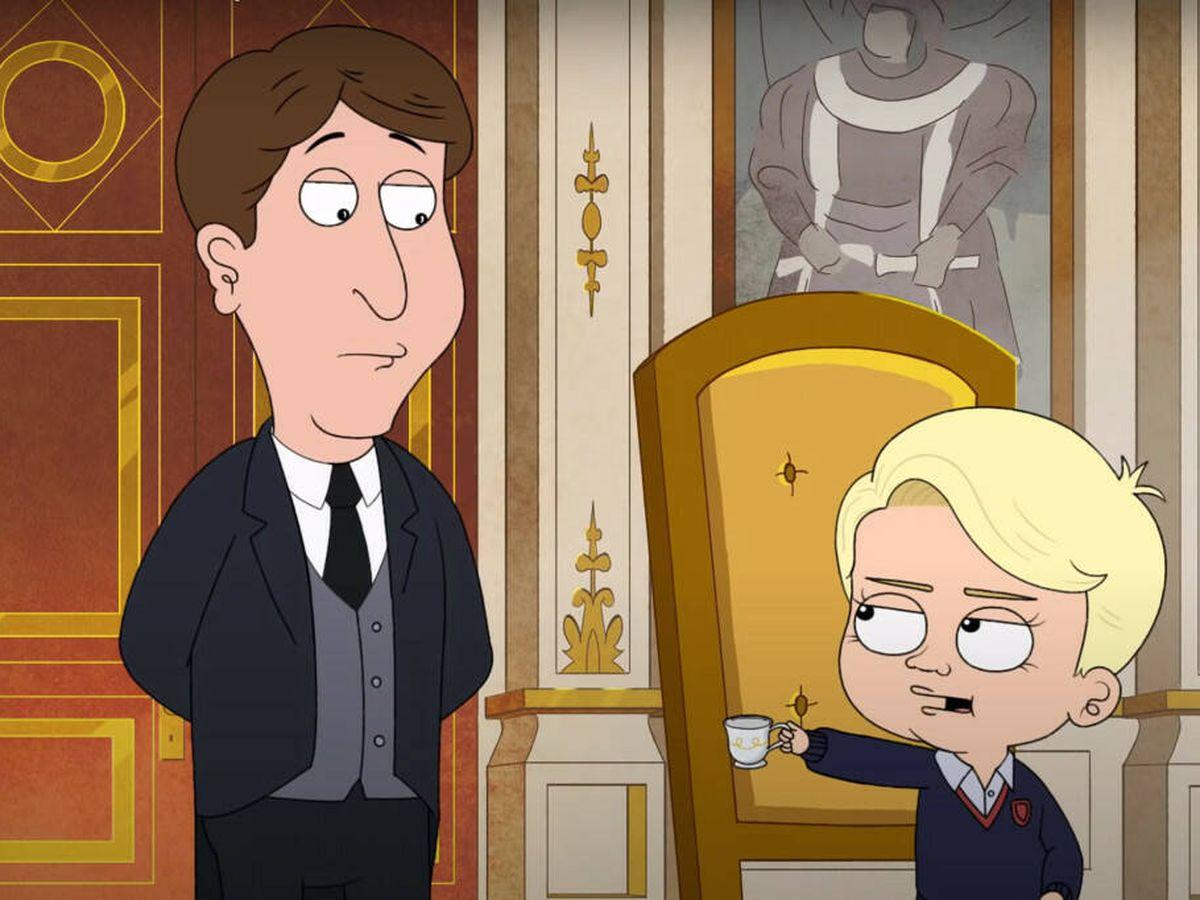 Foto: Una imagen del príncipe George en 'The Prince'. (HBO Max)