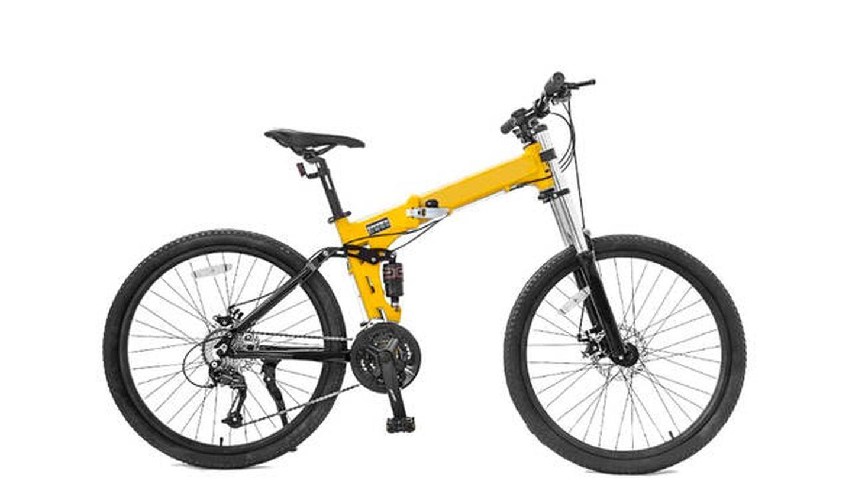 Bici de carretera RYP con pedales plegables