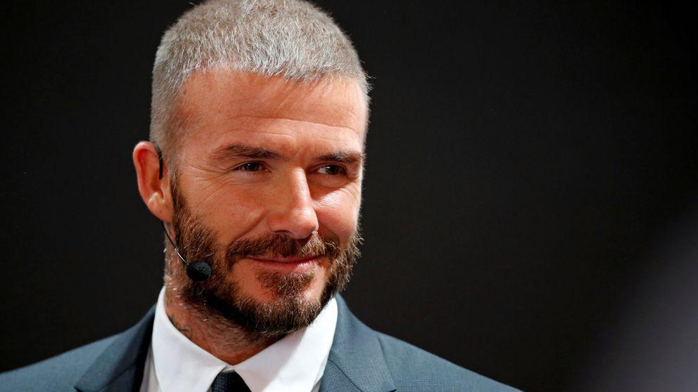 La manta carisísima del perro de Beckham