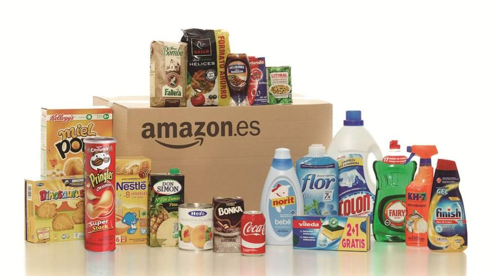 Amazon abre su supermercado 'online' para competir con Mercadona