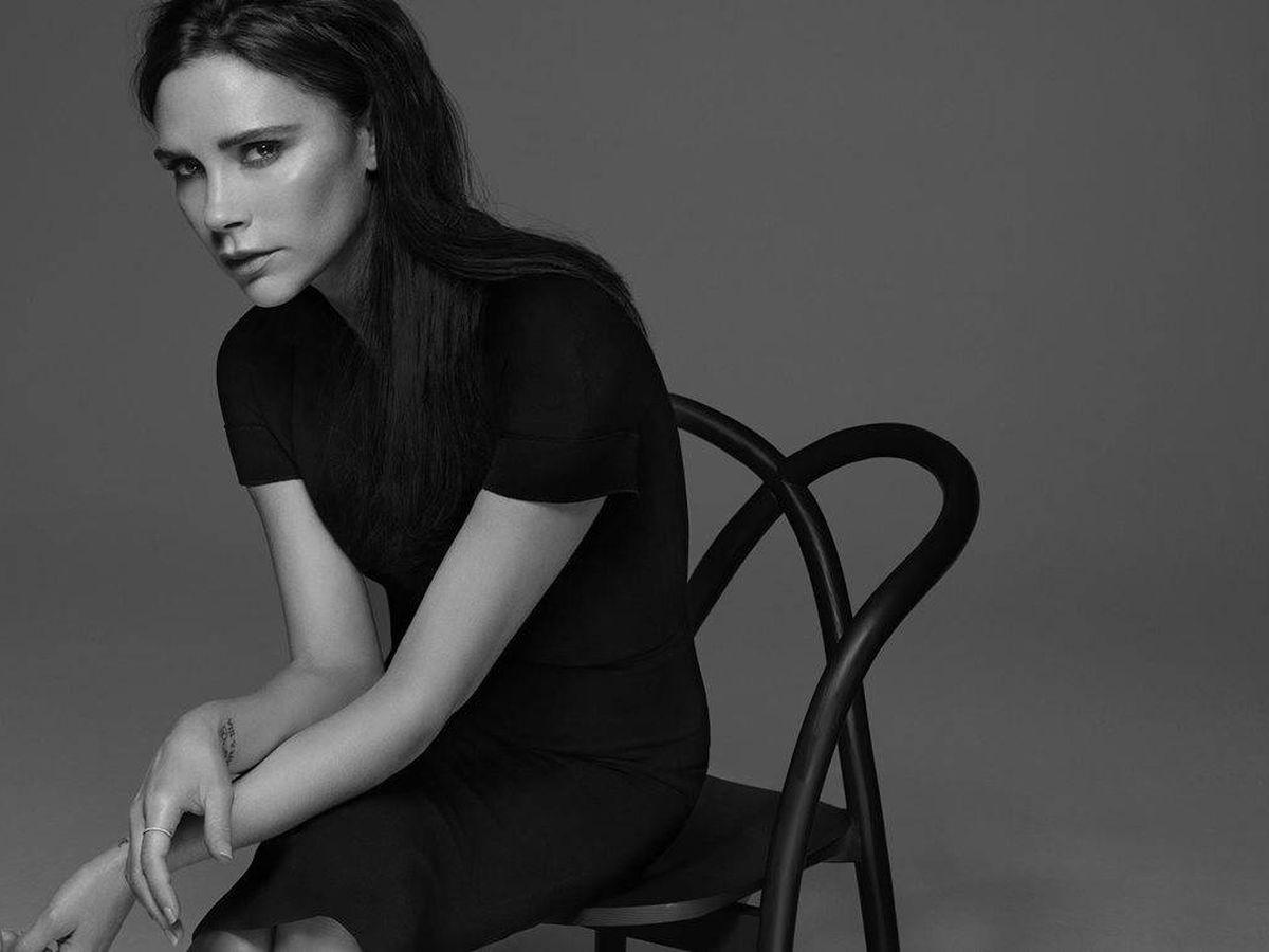 Foto: Victoria Beckham. (Imagen: Estée Lauder)