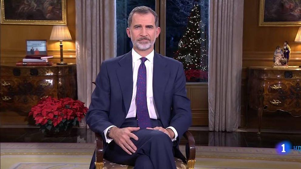 De Juan Carlos I a Felipe VI: así han sido los discursos de Navidad de los Reyes