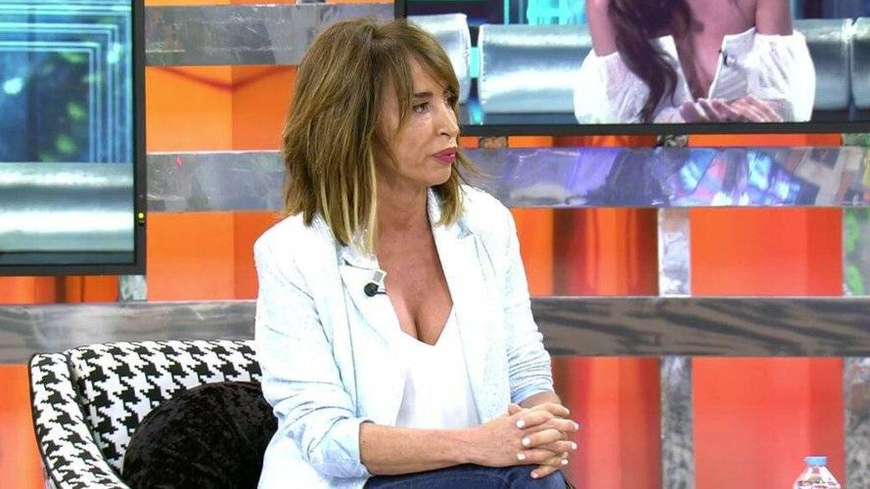 María Patiño, en 'Sálvame'. (Telecinco)