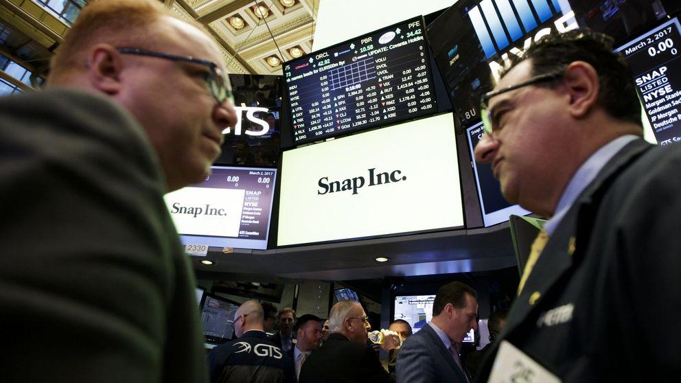 Las acciones de Snapchat suben otro 10% en  Wall St. tras revalorizarse un 44% en su debut