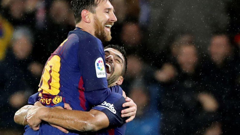 La histórica primera vuelta del Barcelona de Valverde... y de Luis Suárez