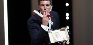 Post de Antonio Banderas triunfa en Cannes de la mano de Almodóvar: premio al mejor actor