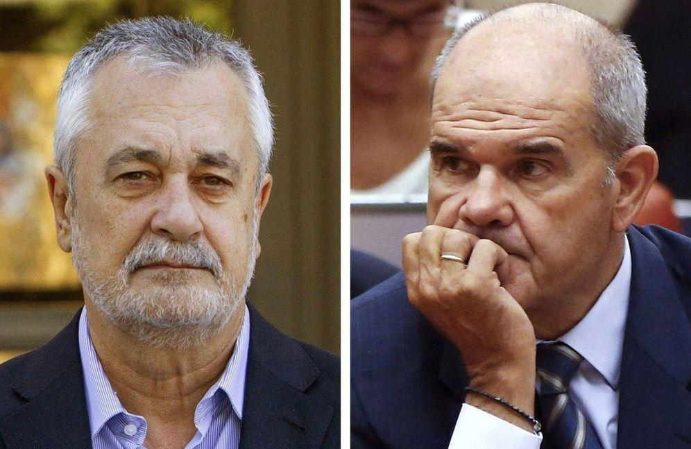 Foto: La Audiencia confirma las acusaciones contra Cháves y Griñán (Efe).