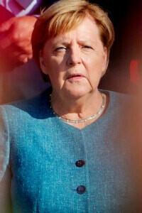 El adiós de Merkel y Joachim Sauer, su fantasma de la ópera
