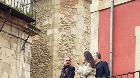 Mario Conde, un observador soltero en las procesiones de León