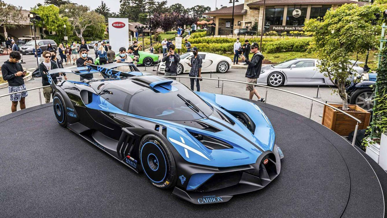 Bugatti Bolide, un deportivo solo para circuito por 4 millones de euros
