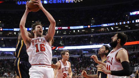 Mirotic y Gasol tiran de los Bulls en la victoria contra Indiana Pacers