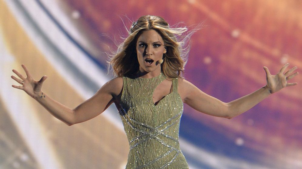 Foto: Edurne durante el Festival de Eurovisión de 2015. (Reuters)