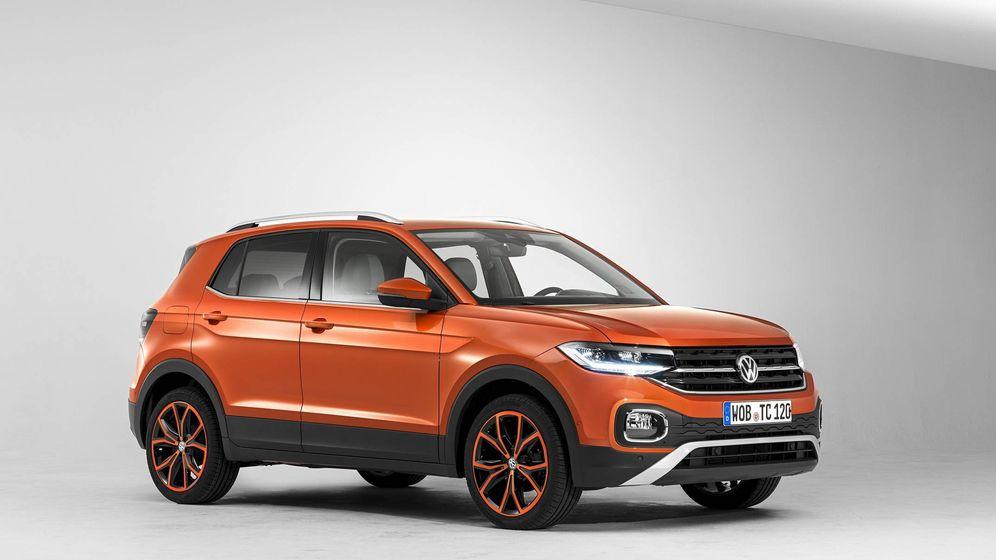 Foto: El Volkswagen T-Cross ya ha comenzado su producción en la planta española de Landaben.
