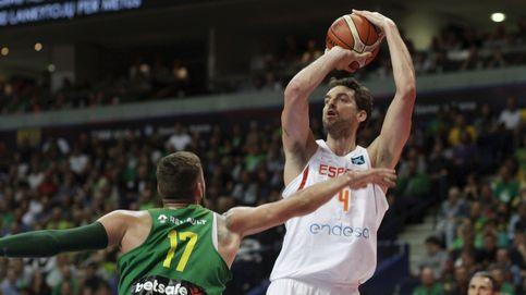 Pau Gasol ya está listo para el EuroBasket tras liderar la victoria en Lituania