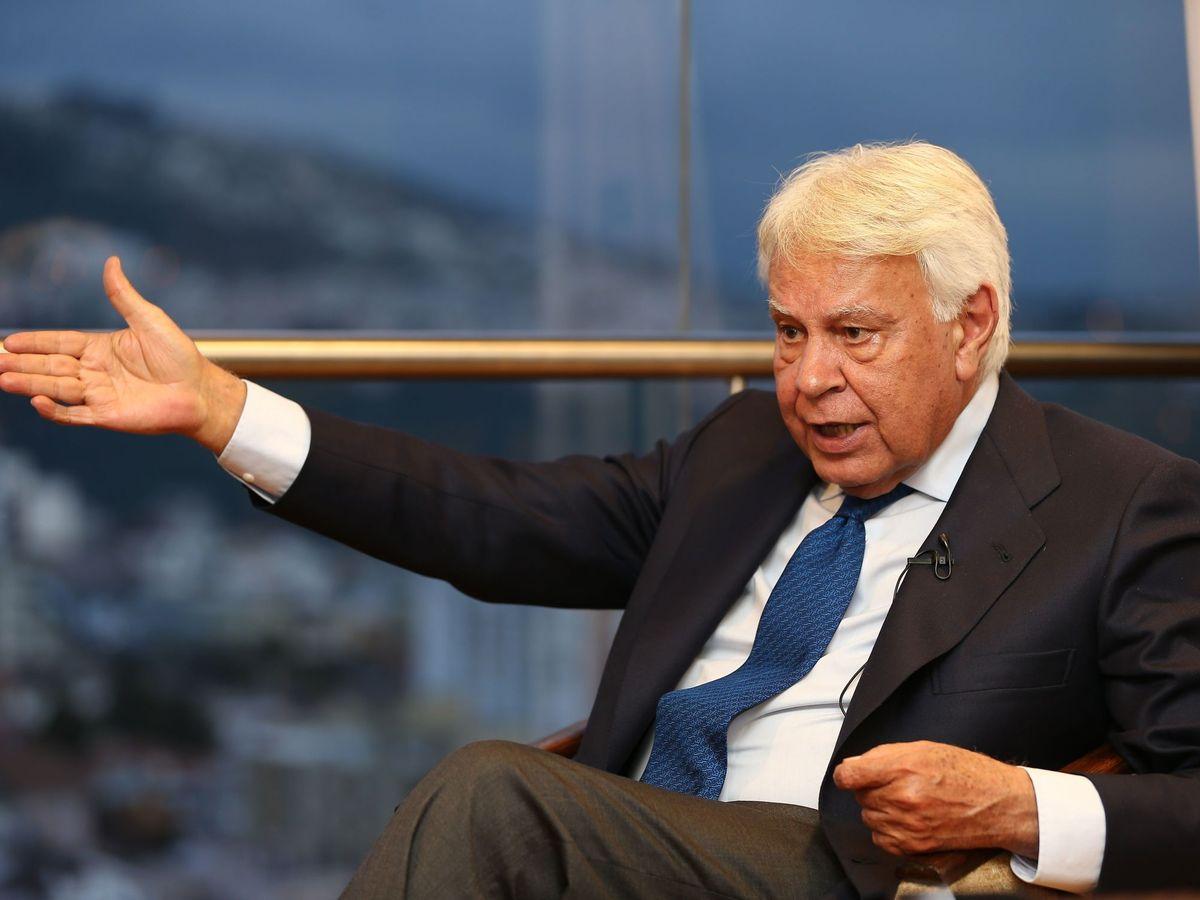 Foto: El expresidente del gobierno español Felipe González. (EFE)