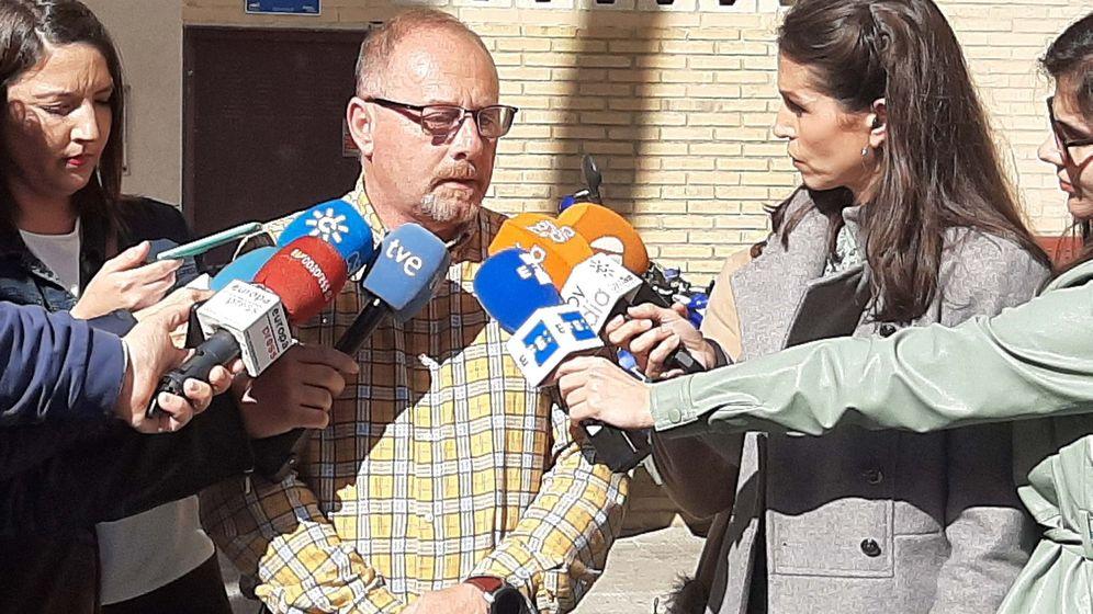 Foto: Anotnio del Castillo, padre de la víctima. Foto: Efe