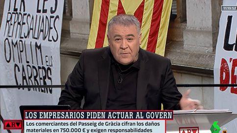 Ferreras también dice basta: afea a políticos que no condenan el saqueo