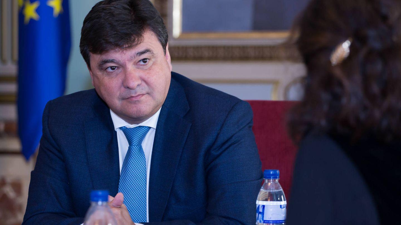 Gabriel Cruz Santana, alcalde de Huelva.