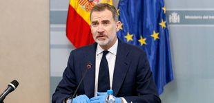 Post de Felipe VI apoya y anima a los cuerpos de seguridad en su tercera aparición pública