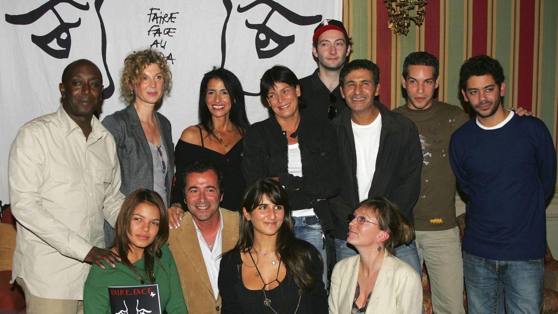 Estefanía de Mónaco en la presentación del single benéfico a favor de la lucha contra el sida. (Getty)