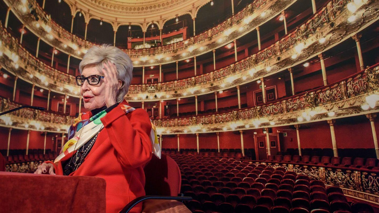 Concha Velasco, el pasado 18 de agosto en el teatro Arriaga de Bilbao. (EFE)
