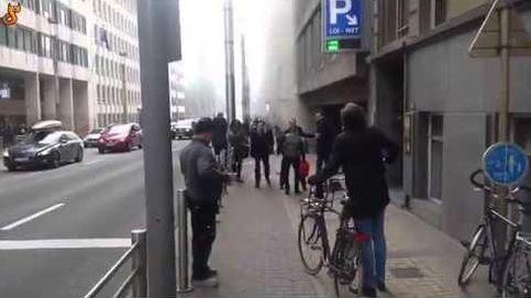 Tras lo sucedido en el aeropuerto, varias explosiones en el metro continúan llevando el caos a Bruselas