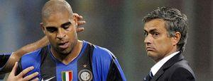 Adriano vuelve a las andadas y Mourinho le manda a casa
