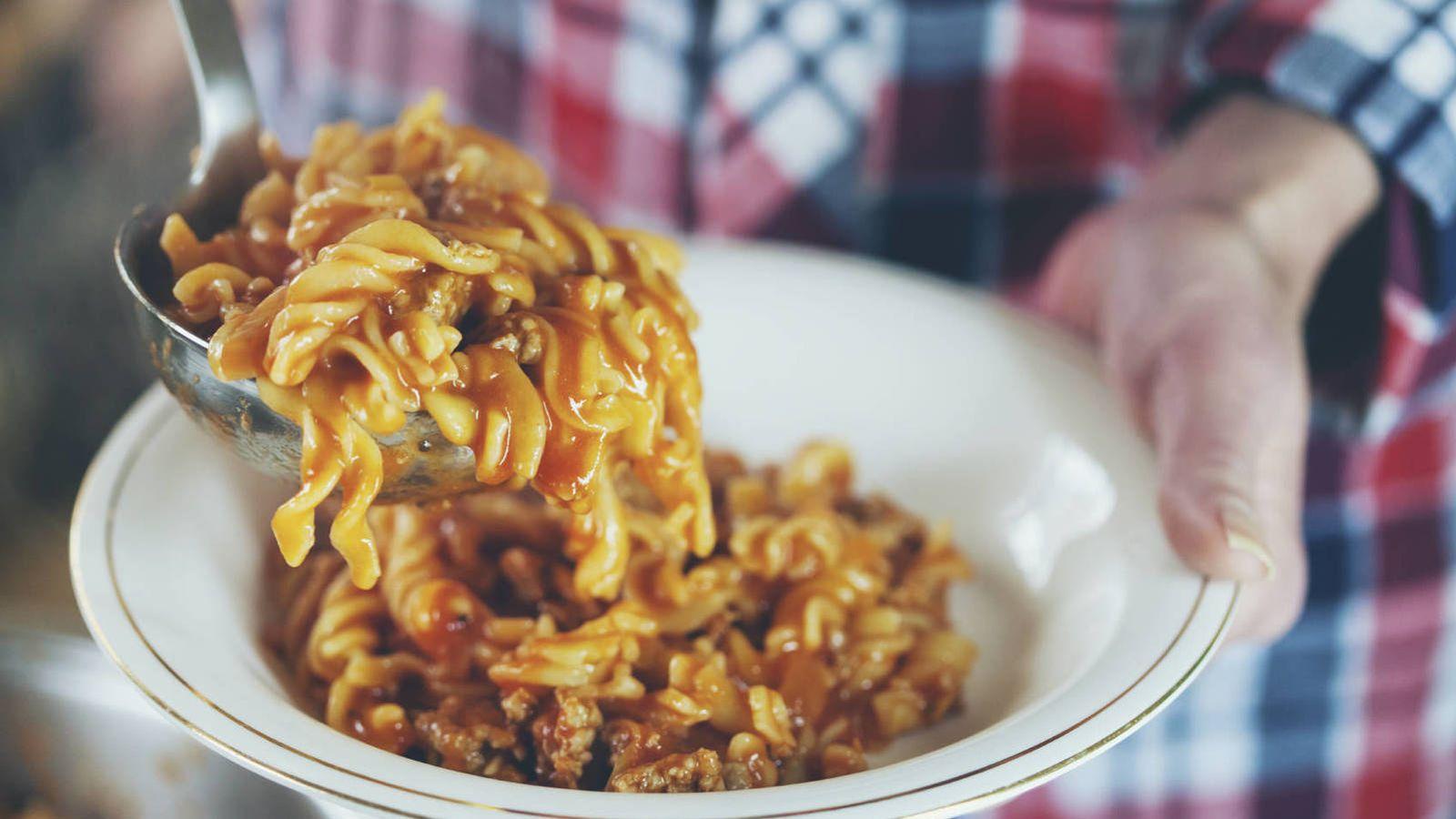 cenar arroz por la noche engorda