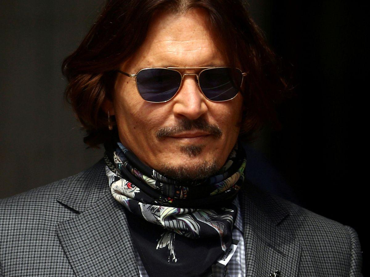 Foto: El actor Johnny Depp, entrando en la High Court en Londres. (Reuters)