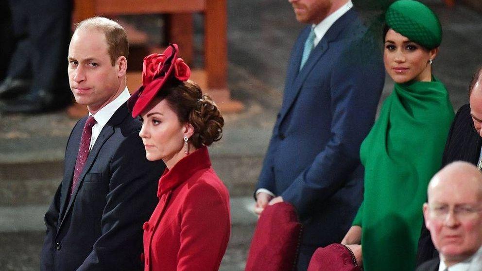 Buen rollo (sin contacto físico) entre Meghan Markle y Kate Middleton en el cierre del Megxit
