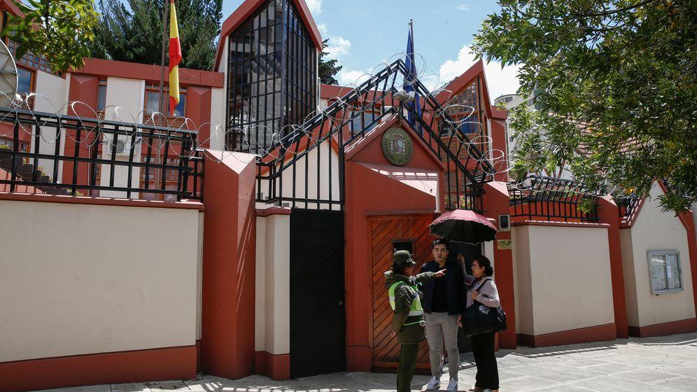 Foto: Embajada española en La Paz, Bolivia. (Reuters)