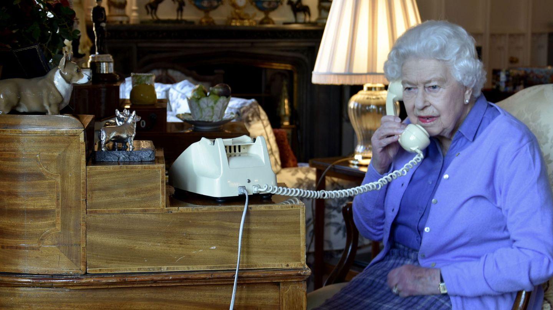 La reina Isabel, aislada en Windsor. (EFE)