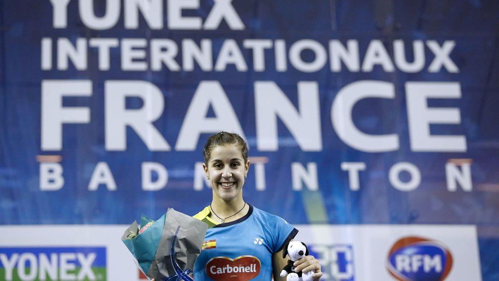 Carolina Marín ejerce de número 1 en París y consigue el quinto título del año
