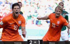 Una remontada exprés da la razón a Van Gaal y alarga el mal mexicano